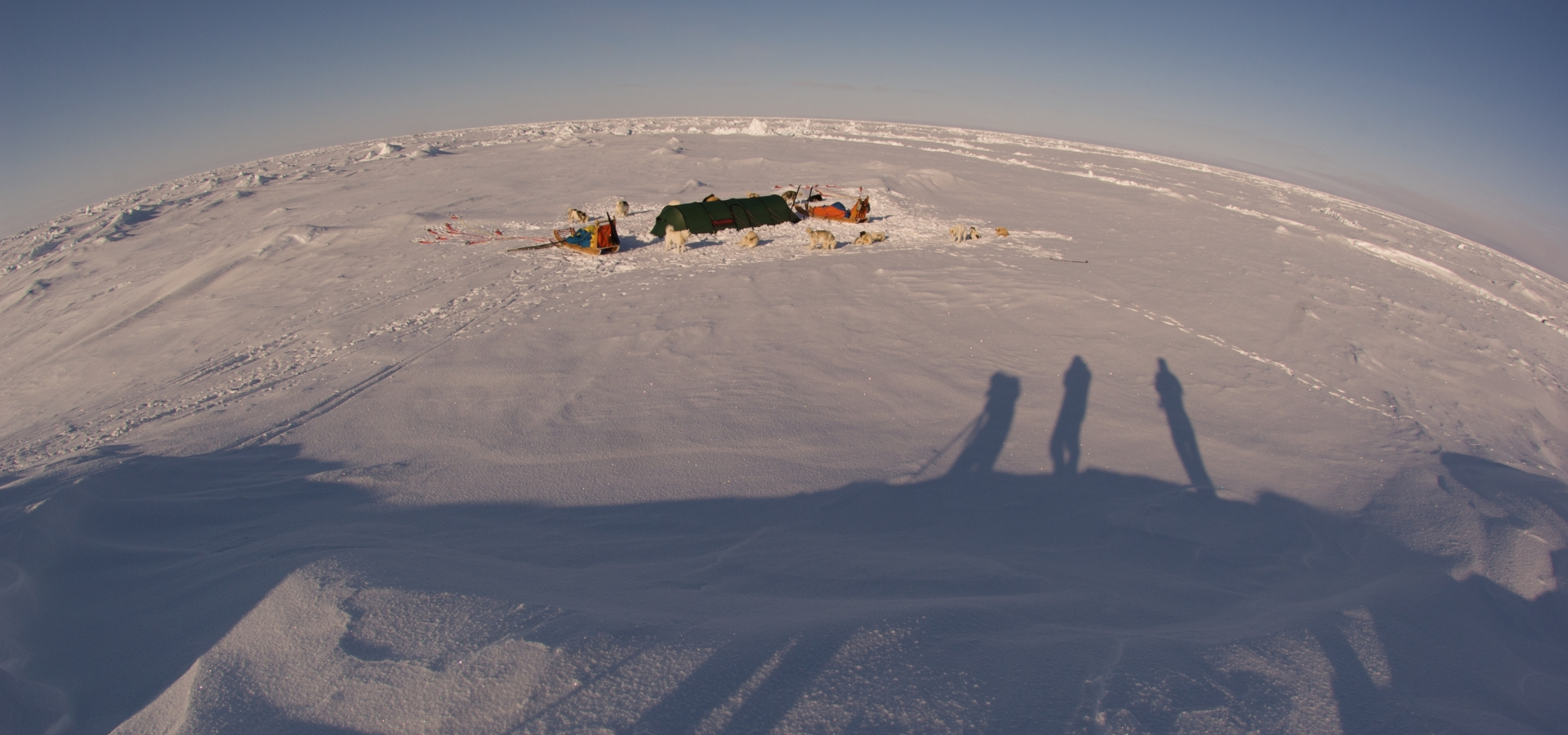 Four expeditions to the North Pole