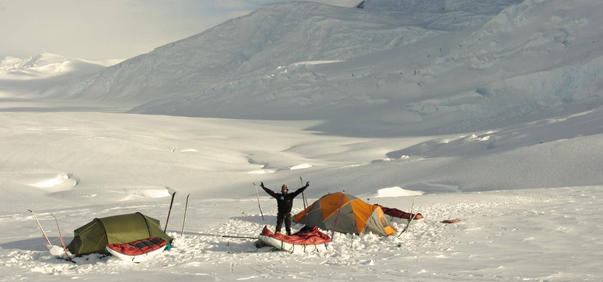 Four expeditions to the South Pole